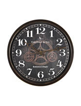 FirsTime Industrial Gears Wall Clock