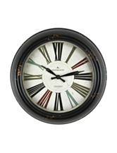 FirsTime Black Relic Wall Clock