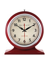FirsTime Colorfully Awake Red Tabletop Clock