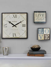 FirsTime Love Gallery Wall Clock