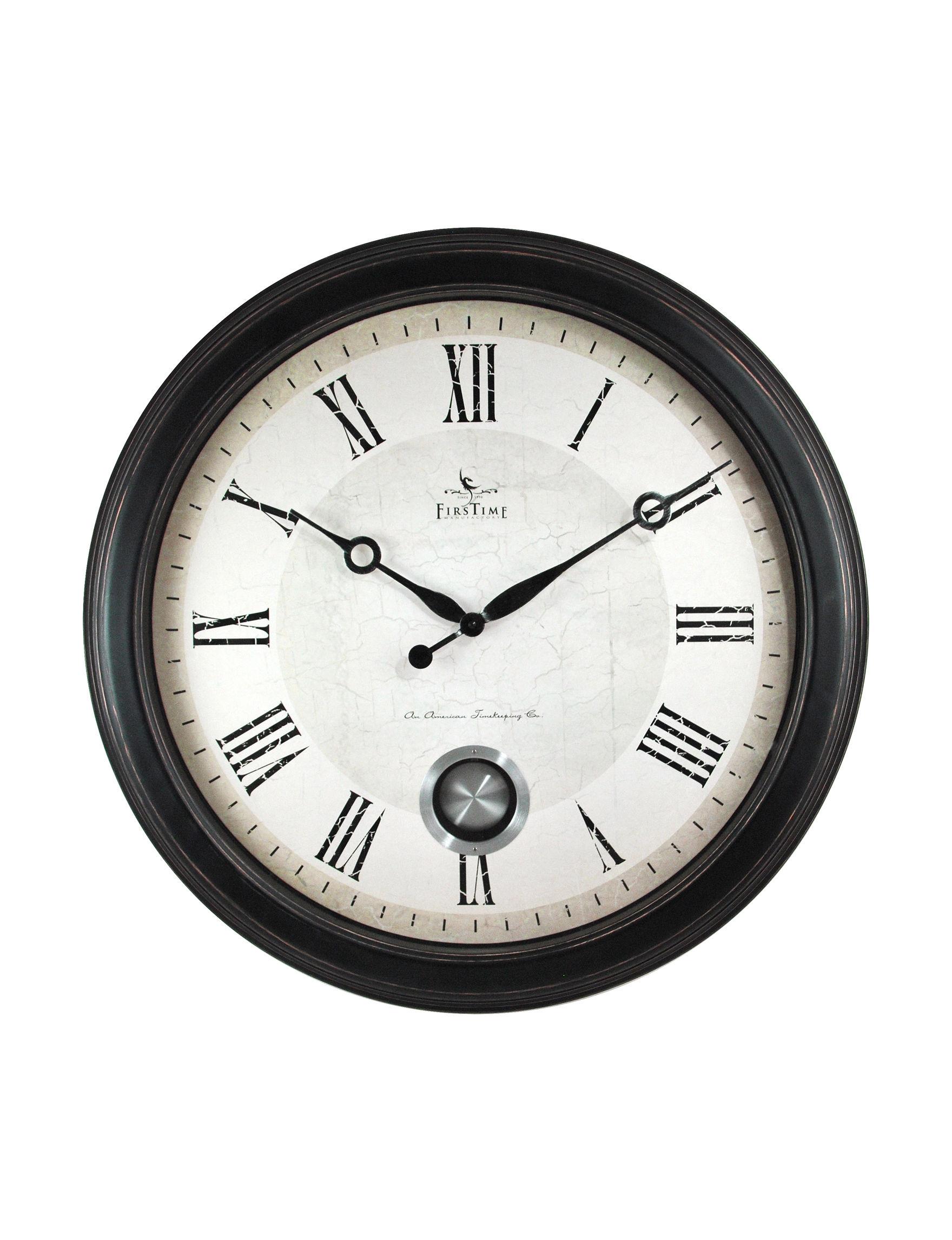Firstime Manufactory  Desk Clocks Wall Decor