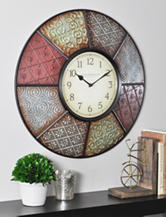 FirsTime Patchwork Wall Clock