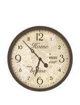 FirsTime Sentiments Wall Clock