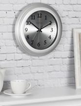 FirstTime Sleek Steel Wall Clock