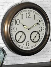 FirsTime LED Trellis Wall Clock
