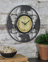 FirsTime Wildfire Wire Wall Clock