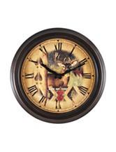 FirsTime Buck Bronze Wall Clock
