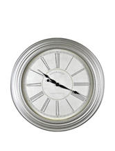 FirsTime Champagne Chic Wall Clock