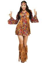 3-pc. Peace & Love Hippie Costume