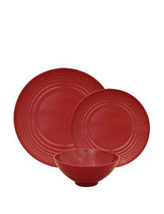 Gourmet Home Red Dinnerware Sets Dinnerware