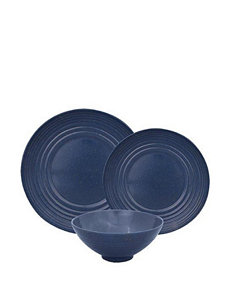 Gourmet Home Blue Dinnerware Sets Dinnerware