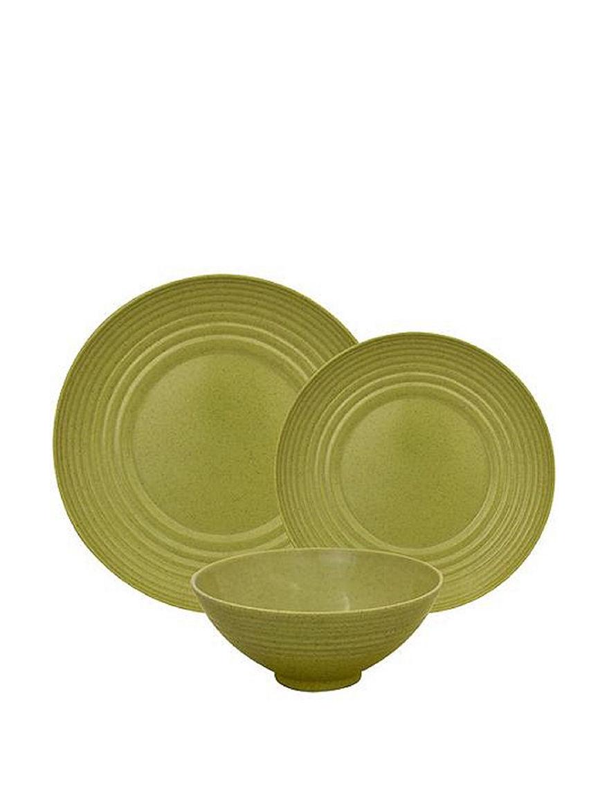 Gourmet Home Green Dinnerware Sets Dinnerware