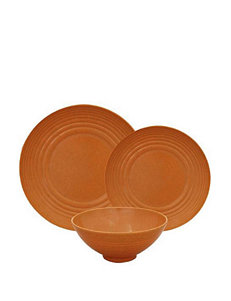 Gourmet Home 12-pc. Orange Dinnerware Set