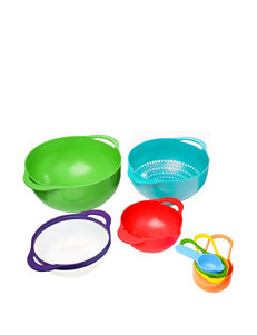 Gourmet Home 8-pc. Mixing Bowl & Measuring Prep Set