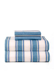 Celeste Home Blue Stripe Sheets & Pillowcases