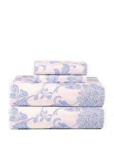 Celeste Home Flannel Corsage Floral Print Sheet Set