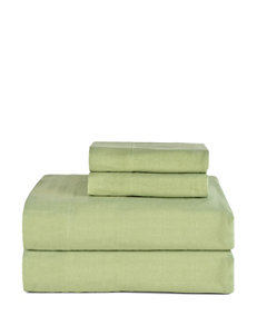 Celeste Home Sage Cotton Flannel Sheet Set