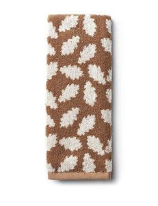 Fall Leaf Decorative Jacquard Hand Towel