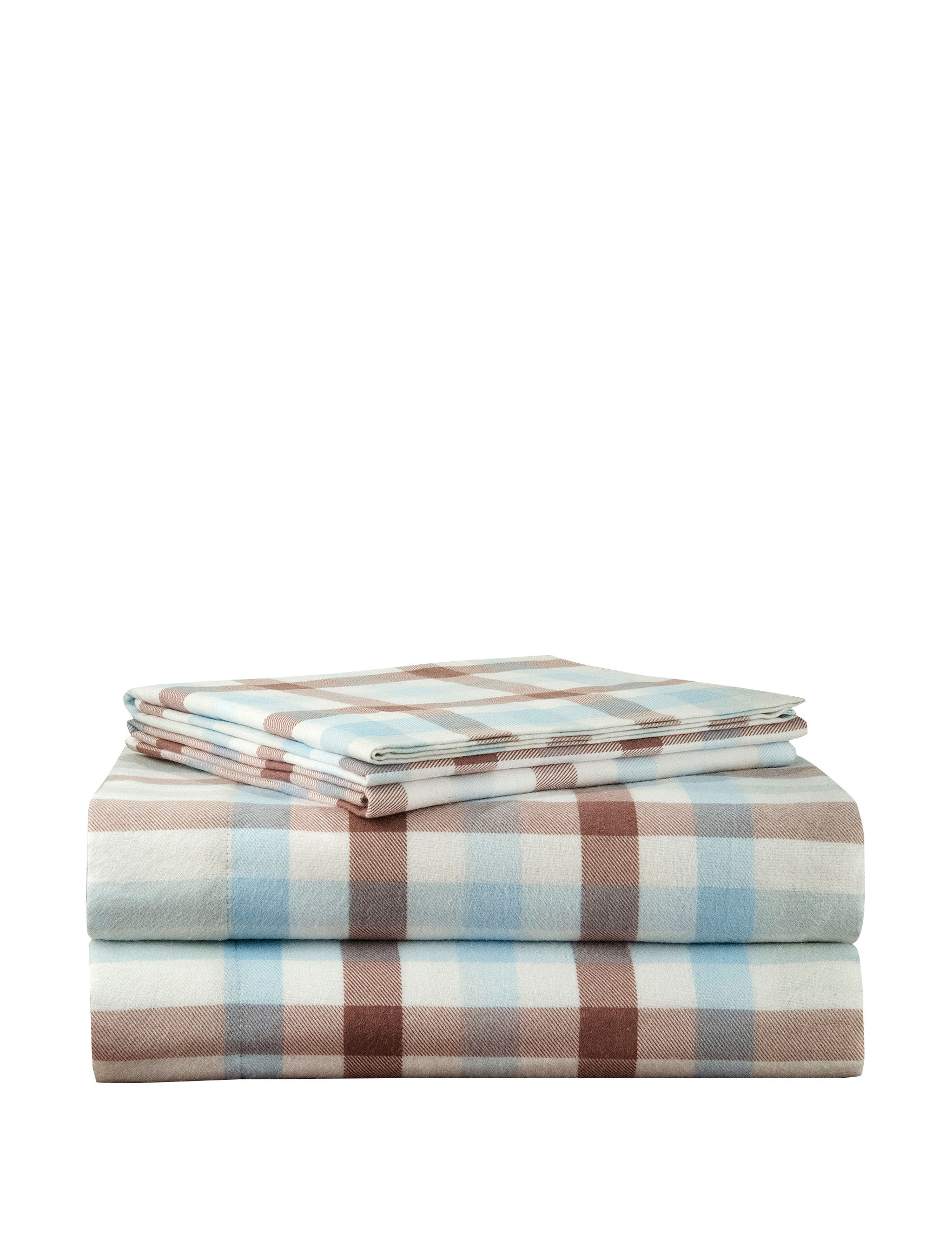 Pointehaven Brown Sheets & Pillowcases