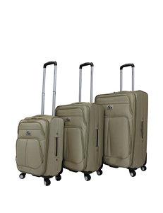 Chariot Travelware Khaki Luggage Sets