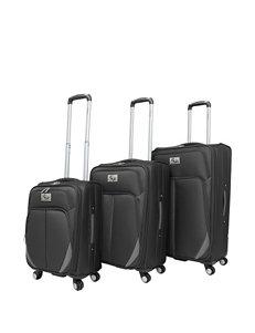 Chariot Travelware Black Luggage Sets