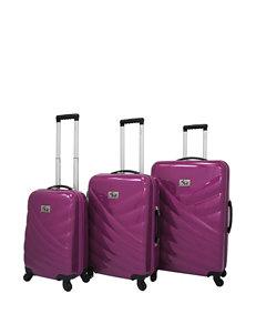 Chariot Travelware Violet Luggage Sets