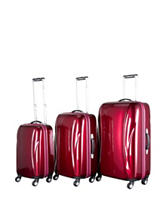 Chariot Travelware 3-pc. Hardside Luggage Set