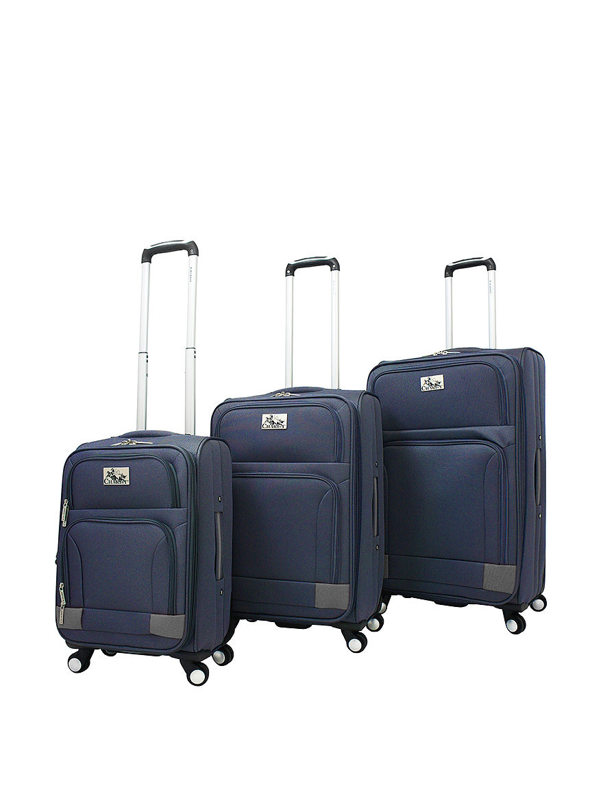 Chariot Travelware Navy Luggage Sets