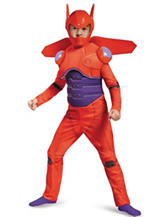 Kids Big Hero 6: Deluxe Muscle Baymax Costume