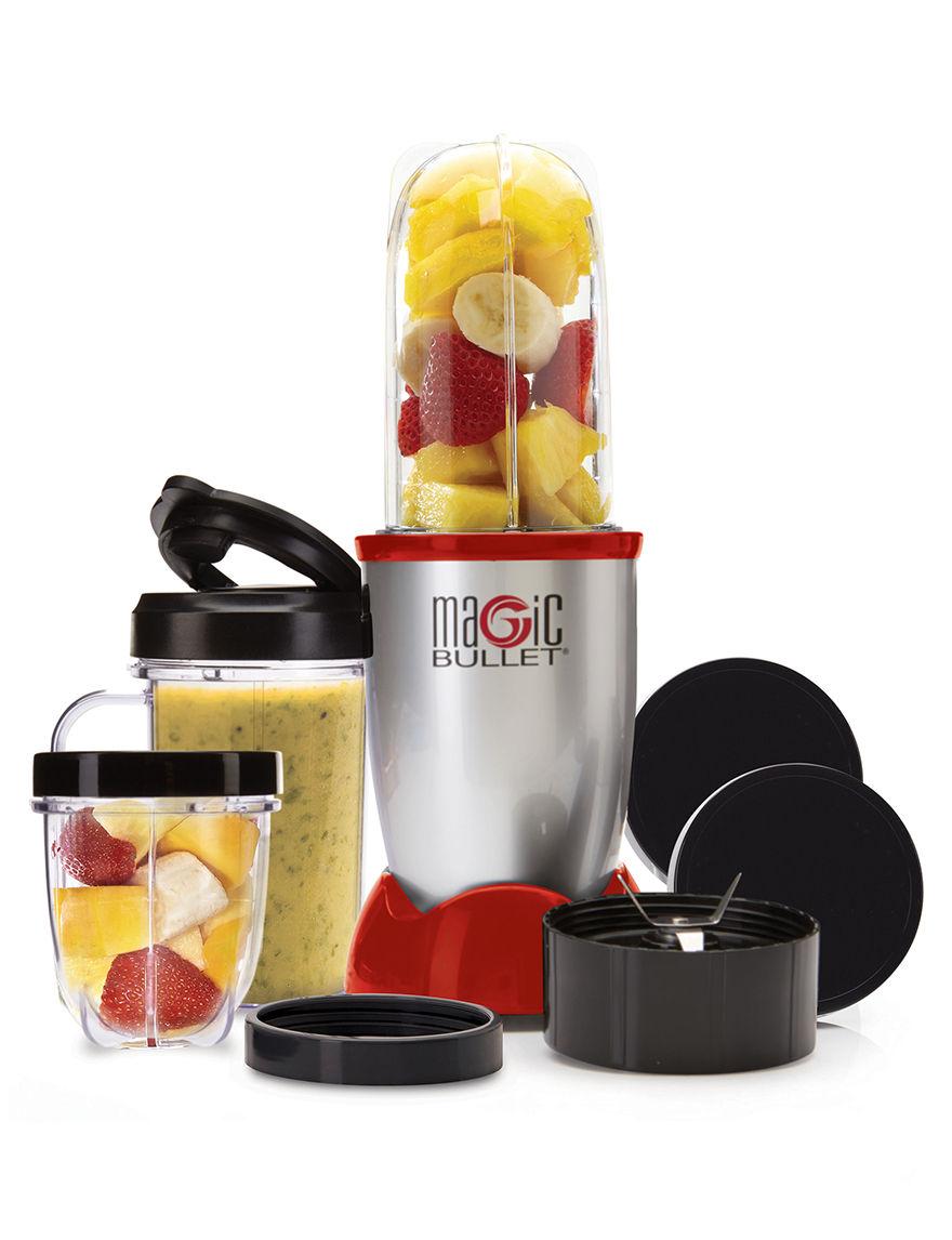 Magic Bullet Red Blenders & Juicers Kitchen Appliances