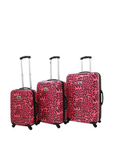 Chariot Travelware Pink Luggage Sets