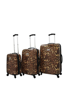 Chariot Travelware Leopard Luggage Sets