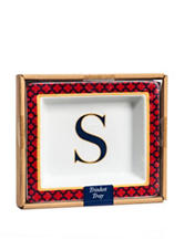 Home Essentials Monogram Trinket Tray