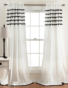 Lush Decor Black Curtains & Drapes