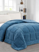 Soft & Cozy Home Blue Super Soft Comforter