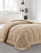 Soft & Cozy Home Tan Super Soft Comforter