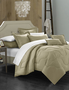 Chic Home Design Taupe Down & Down Alternative Comforters