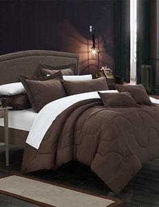 Chic Home Design Brown Down & Down Alternative Comforters