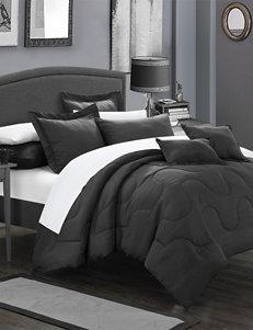 Chic Home Design Black Down & Down Alternative Comforters