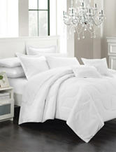 Chic Home Design 11-pc. Direllei Collection White Down Alternative Bed Set