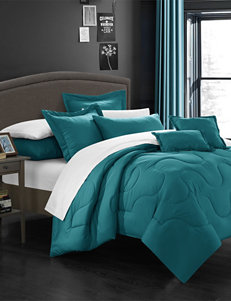 Chic Home Design Teal Down & Down Alternative Comforters