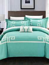 Chic Home Design 4-pc. Downton Collection Duvet Bed Set