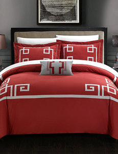 Chic Home Design Burgundy Duvets & Duvet Sets
