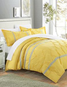 Chic Home Design Yellow Duvets & Duvet Sets