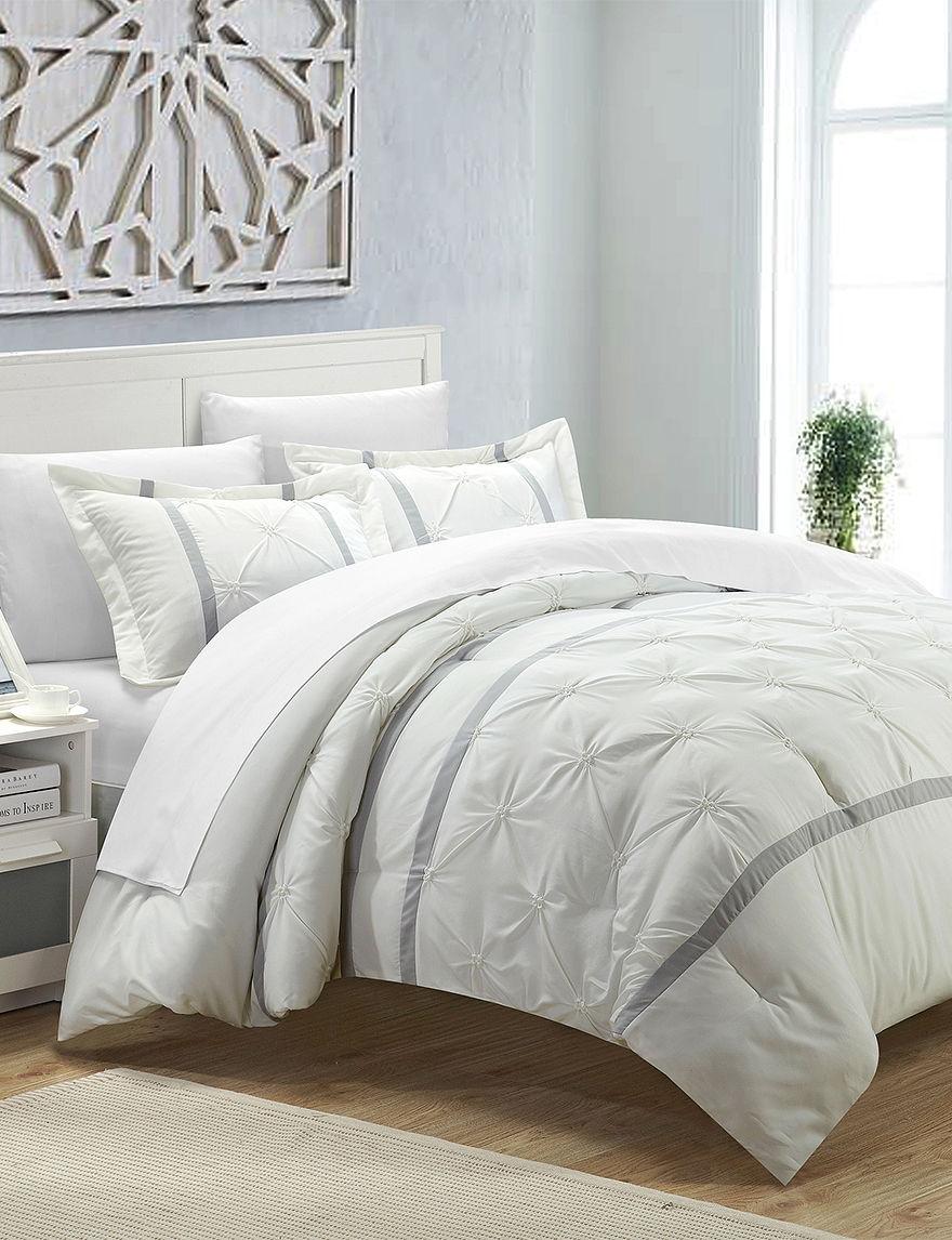 Chic Home Design White Duvets & Duvet Sets