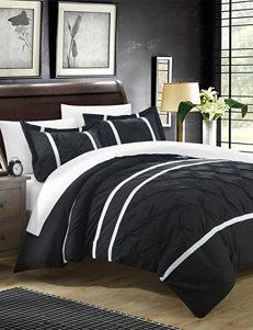 Chic Home Design Black Duvet Duvets & Duvet Sets