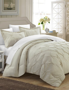 Chic Home Design Beige Duvets & Duvet Sets