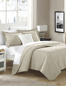 Chic Home Design Argeles Collection Taupe Quilt Set