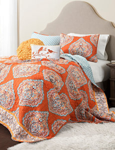 Lush Decor Orange Quilts & Quilt Sets
