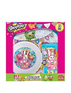 Shopkins Pink Kids' Dinnerware Dinnerware